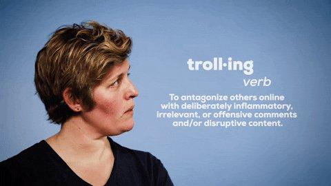 sally kohn troll GIF by The Opposite of Hate