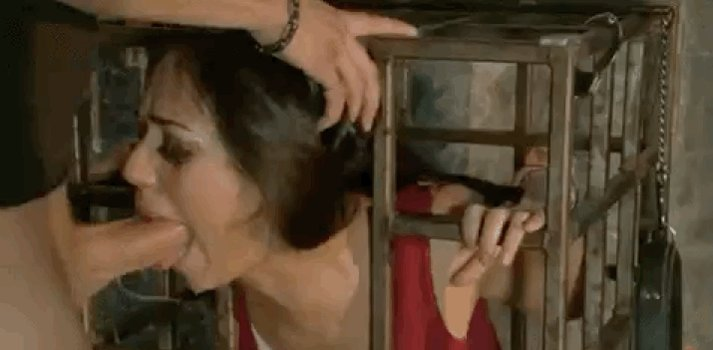 Lesbian Forced Blowjob