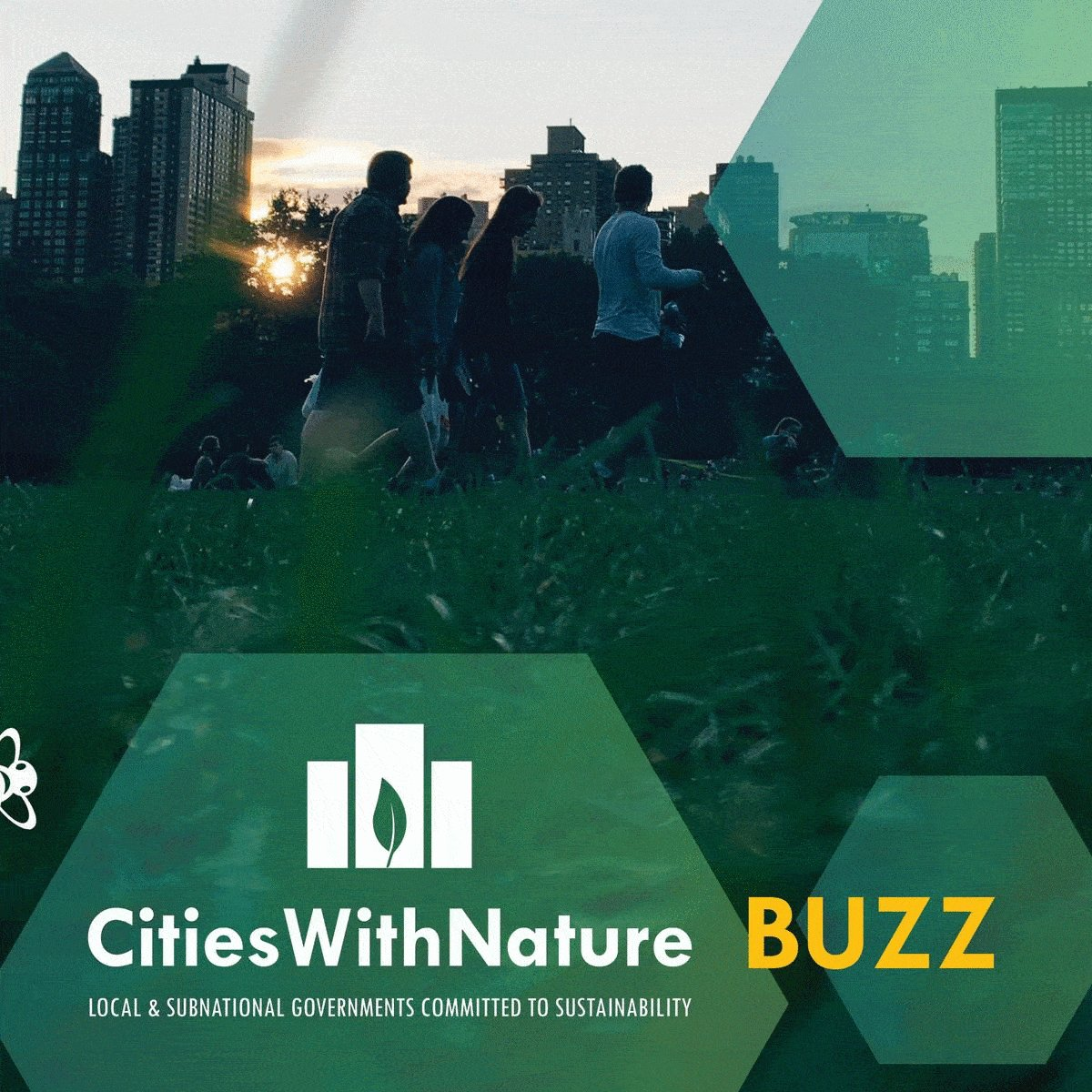 Image for the Tweet beginning: Our #CitiesWithNature BUZZ June edition