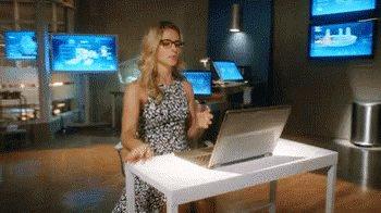 Felicity Hacking GIF
