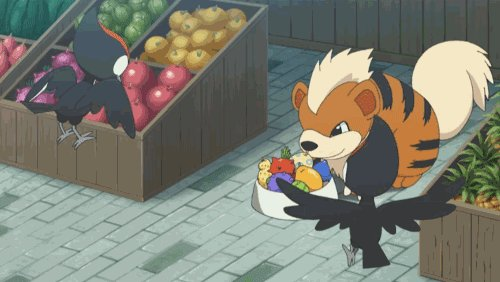 Looks like Growlithe's nose picked up on some hungry friends! Hope those Pikipek like berries!