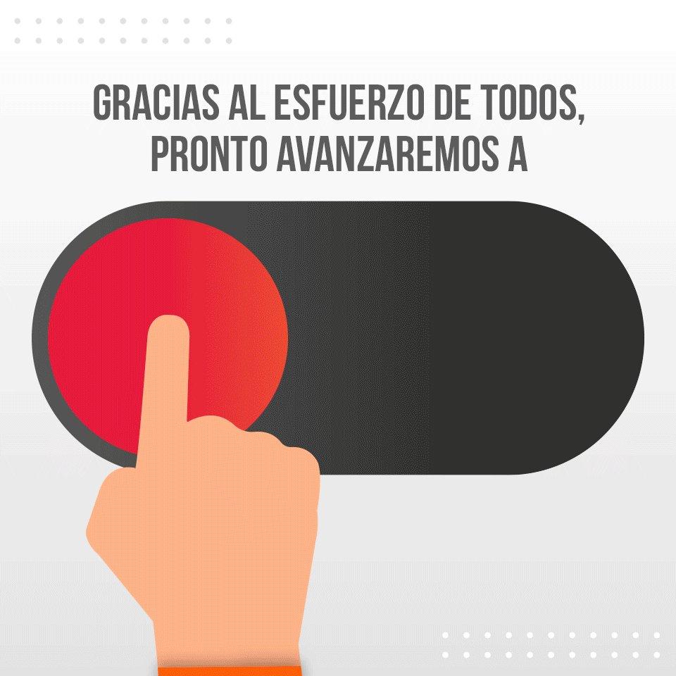 RT @alfredodelmazo: Juntos saldremos de esta. #EdoméxRumboASemáforoNaranja. https://t.co/1mnFGAthDl