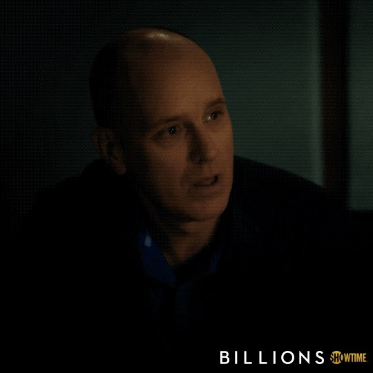 When you find someone who loves Billions as much as you do.