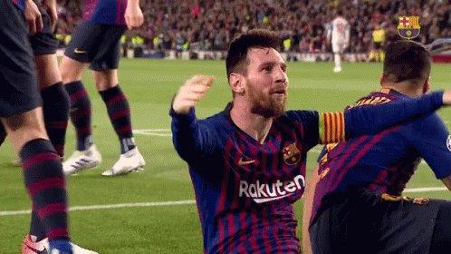 #frac1   🔎 GOL 700 DE LEO MESSI! 🙌  🔵🔴 630 amb el Barça 🔵⚪️ 70 amb Argentina  🐐🐐🐐🐐🐐 https://t.co/ybQRWE1C5C