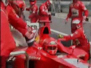 @F1 @schumacher 👑❤️🏎🏁🏆  Schumacher was always on Fire! He always put on a show.  Schumacher: Okay guys, Stay Frosty Ferrari: Yes https://t.co/NWuOrJsRD7