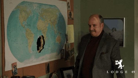 We here at Orbis have mapped the entire hollow earth. What we're saying is we know where you hide @TheEmmys statues. Nominating @Lodge49 will just be easier for all of us in the long run. #FYC #Lodge49 #Emmys2020
