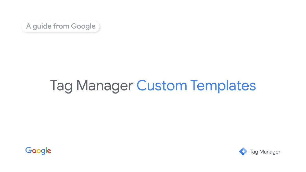 Image for the Tweet beginning: With Custom Templates, less technical