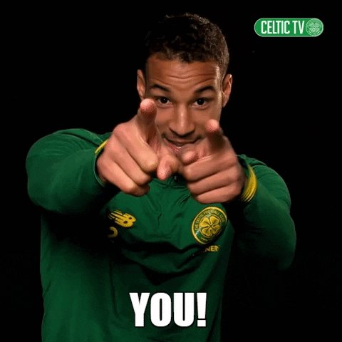 You Are French GIF by Celtic Football Club