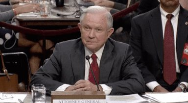 jeff sessions idk GIF