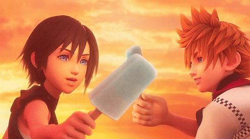Man I really wanna make these sea salt ice creams. They actually look quite nice haha   (It'll also put my A level in Food to good use 😂😂)  #kingdomhearts #icecream #seasalt #sora #gaming #FinalFantasy #disney #Cooking #roxas #Food