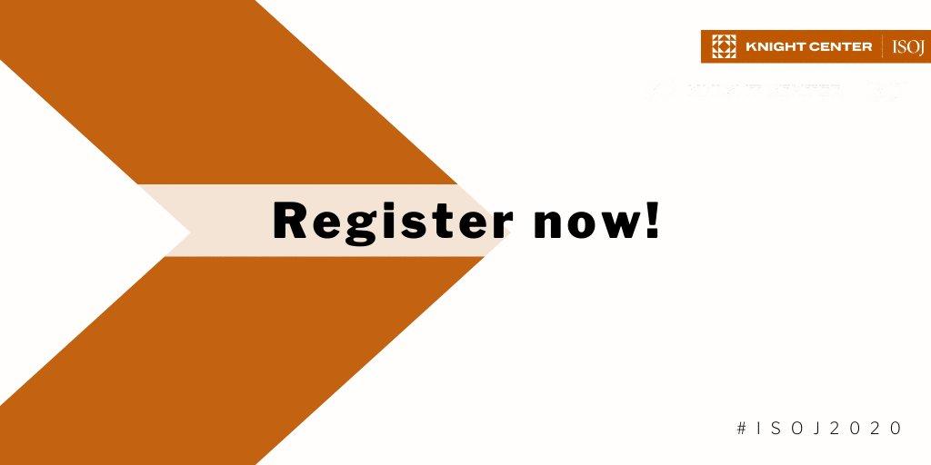 O Simpósio Internacional de Jornalismo Online este ano será virtual! O ISOJ vai durar uma semana, de 20 a 24 de julho e as inscrições estão abertas! Inscreva-se gratuitamente e junte-se a nós para o #ISOJ2020