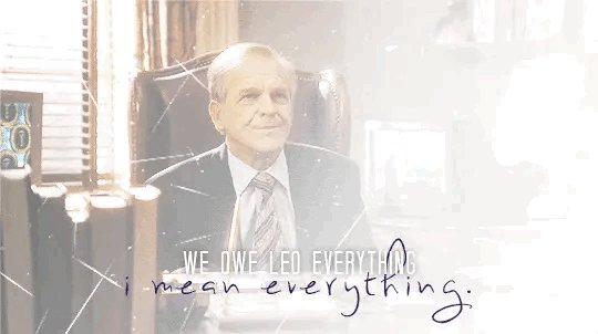 5th Place: Leo McGarry (66 Votes)