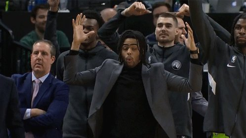 .@Dloading hasn't been a Wolf long, but he's given us so many GIFs in a short time.  A few of our favorites... https://t.co/saRmgLZcFk