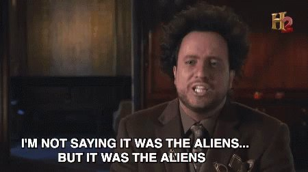 Ancient Aliens Interview GIF