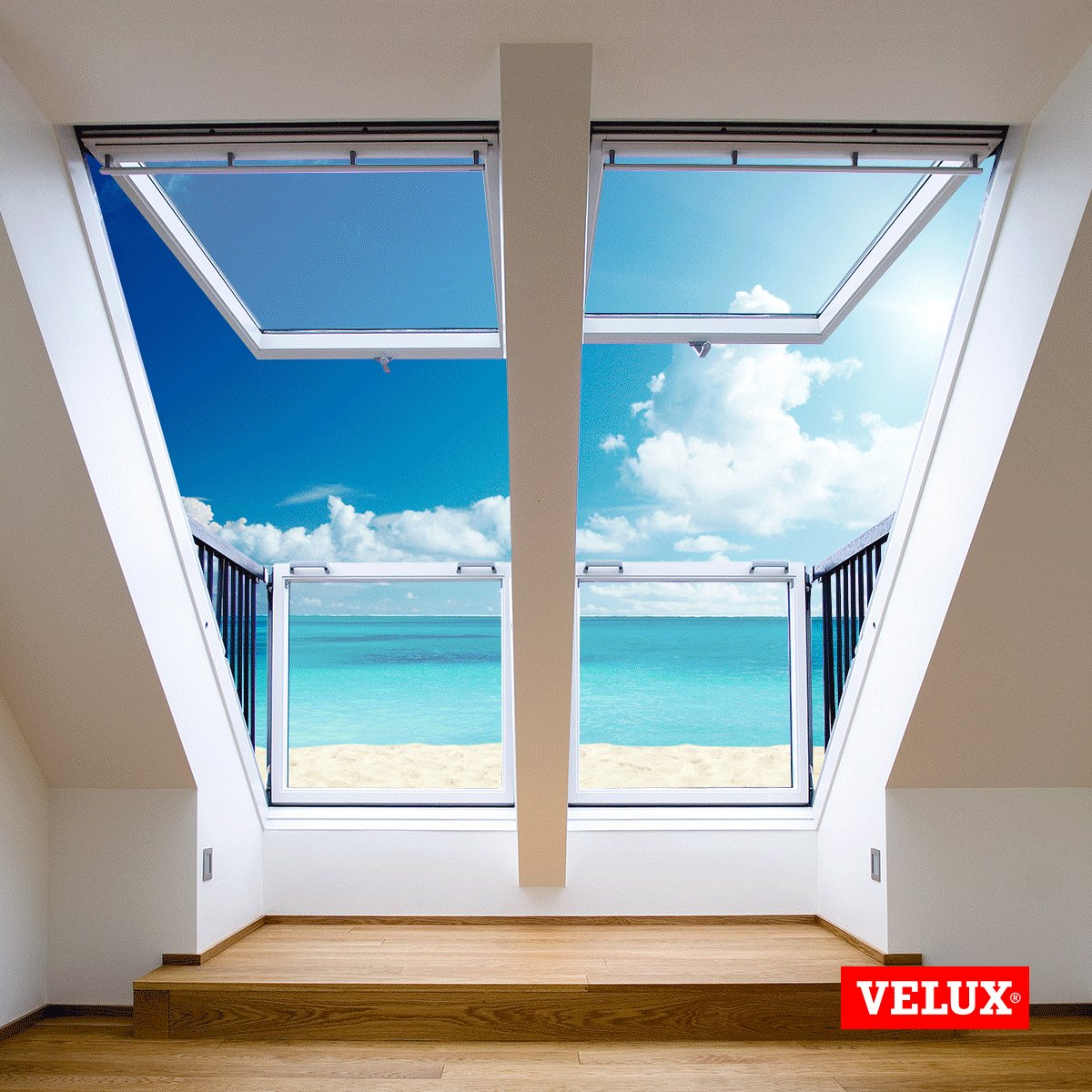 #Breathtaking views from the #VELUX CABRIO Balcony Roof #window can brighten any day! https://t.co/oVVTfz8UZA