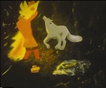 A little something for #FairyTaleTuesday ---  Here we have a glorious Soviet paint-on-glass animation; set to Igor Stravinsky's 'The Phoenix' suite:  'The Firebird / Zhar-Ptitsa' (1984) dir. Vladimir Samsonov. pic.twitter.com/ShVcHx3YSf