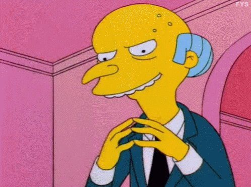 The Simpsons Mr Burns GIF