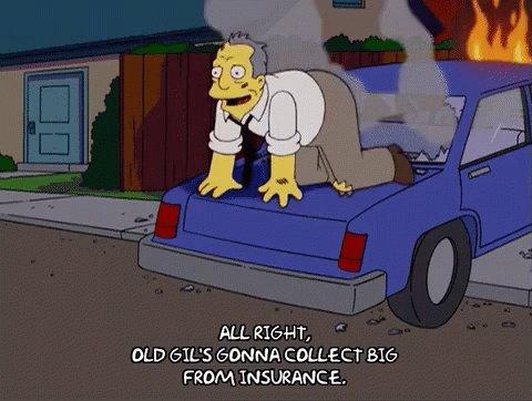 Gil Simpsons GIF