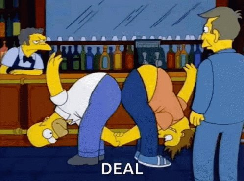 The Simpsons Barny Gumble GIF