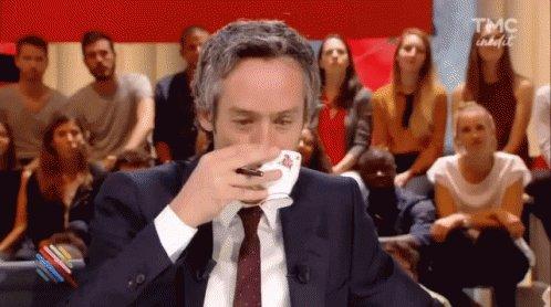 Yann Barthes Drinking GIF