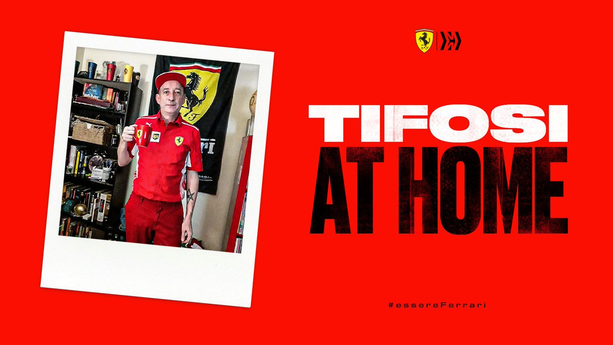 #Tifosi, last weekend your support meant the world to us ❤️ A huge grazie mille goes out to all of you who watched along in your @ScuderiaFerrari kit 😁  #essereFerrari 🔴 #AustrianGP #TifosiAtHome