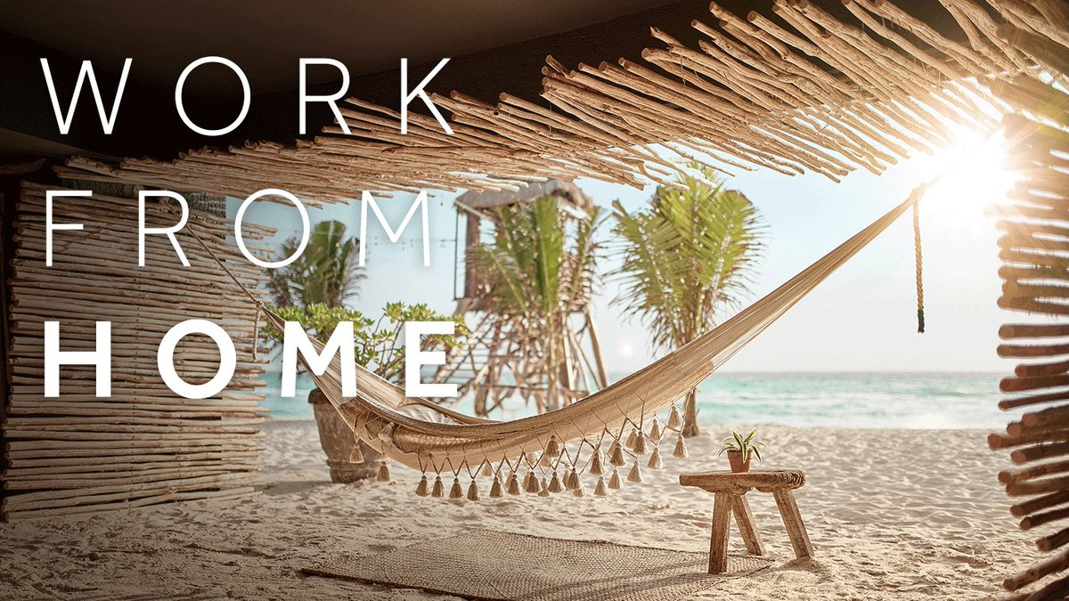 If you can work from anywhere, why not make it here? End your work day the right way and #LetYourMindTravel.