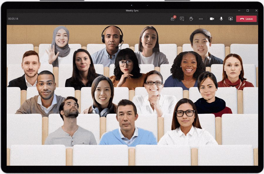 Microsoft Teams' new Together Mode is designed for pandemic-era meetings