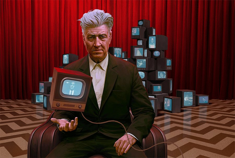 How's your day going?     Thought I'd say Happy Weird Wednesday with a cool gif of one of my favorite all around artist.    #WeirdWednesday #DavidLynch #TwinPeaks #RedRoom #BlackLodge #indieFilm #Eccentric #inspiration #filmmaker #filmmaking #jeremyenecio #tv #television