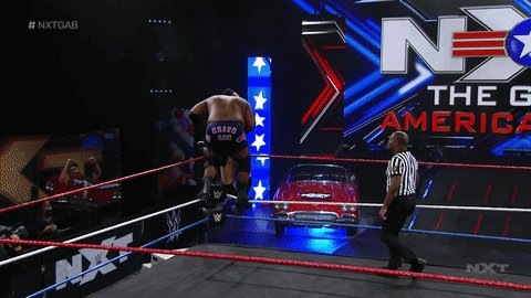 Superplex? Nah, @RealKeithLee calls it the STRUGGLEPLEX.   #WWENXT #NXTGAB @AdamColePro https://t.co/OVXmmrzbLq