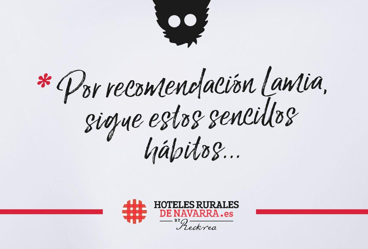 Ya llevamos unas semanas con nuestros #hotelesRurales completamente operativos y, como siempre, atentos del #bienestar de nuestros huéspedes hemos implementado una serie de #recomendaciones para mantener la máxima #seguridad en todas nuestras instalaciones. #NavarraEnPersona