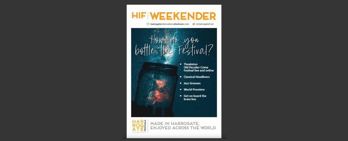 Join @EmmaLK, @StevenIsserlis, @SilasBassa, @MikeLovatt, @DorothyKoomson, @SabineDurrant, @FitzHelen, @lewis_dartnell, @valmcdermid, @Beathhigh & many more for the #HIFWeekender: 23-26 July.   Discover your online Festival here:   #arts #culture #Harrogate