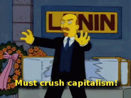 Thes Simpsons Lenin GIF