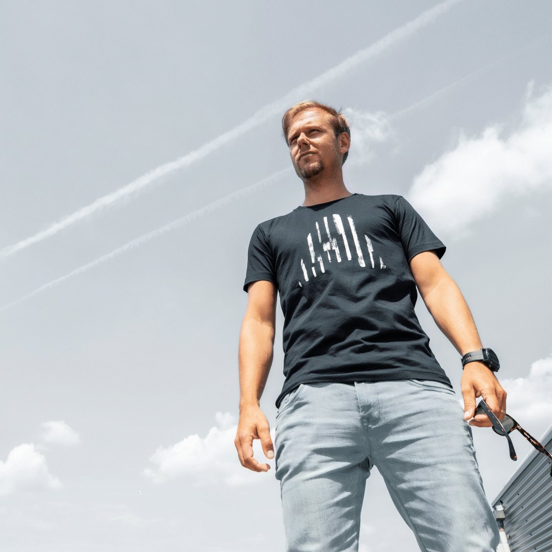 To keep you good looking 😉 T-shirt and also face masks now available at -> arminvanbuuren.com/shop