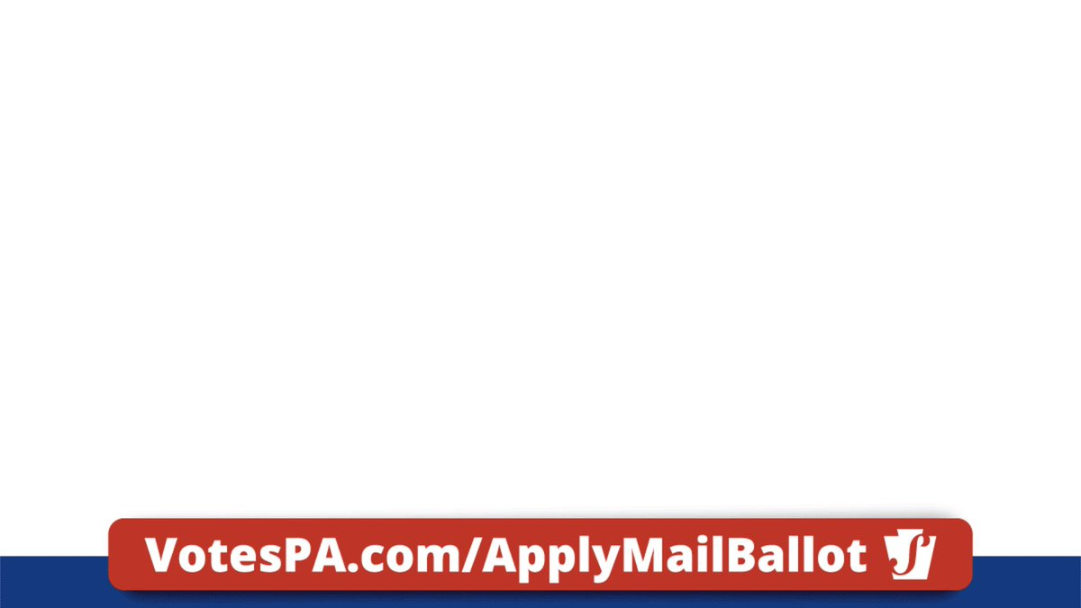 Image for the Tweet beginning: Mail-in and absentee ballot applications
