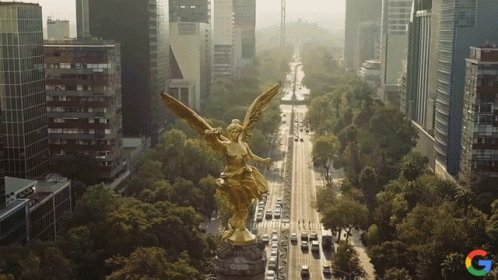 Angel De La Independencia Monumento ALa Independencia GIF