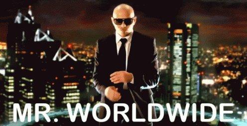 Mr Worldwide Pitbull GIF