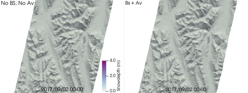 "Our new paper led by Vincent Vionnet is now up for discussion in The Cryosphere ""Multi-scale snowdrift-permitting modelling of mountain snowpack "" /cc @brianmenounos @sgascoin @nicwayone  https://t.co/BtaagltbAO"