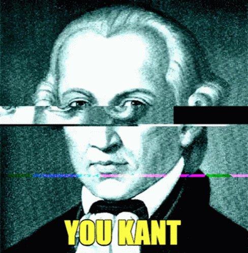 Kant Immanuel Kant GIF