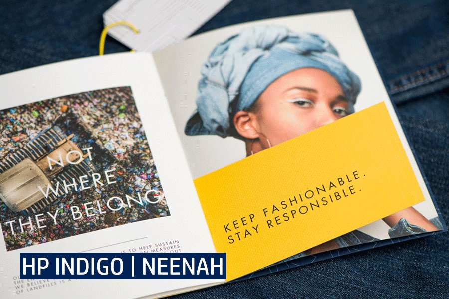 Image for the Tweet beginning: Digital inspiration: the new @neenahpaper