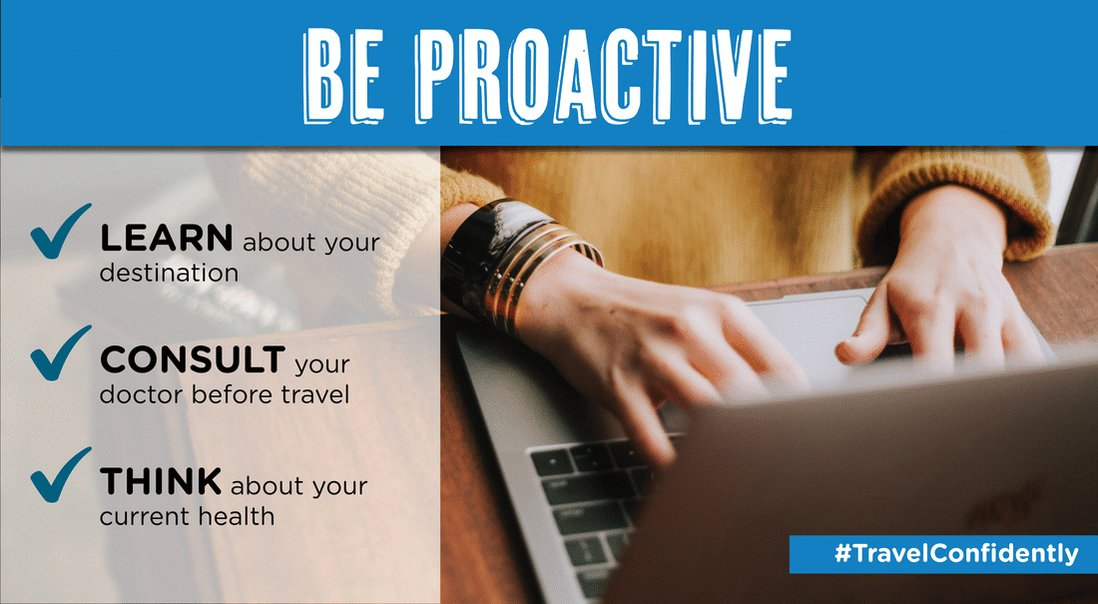 Image for the Tweet beginning: Making plans? Be proactive, prepared