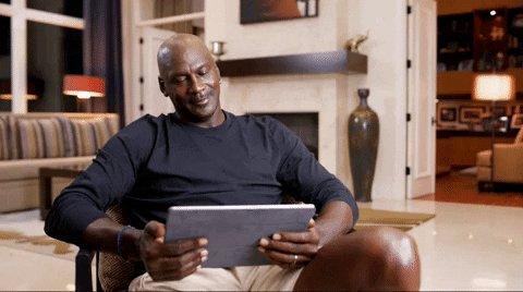 Michael Jordan Lol GIF by ESPN