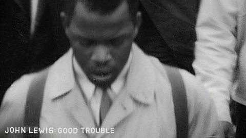 Player: #JohnLewis Location: #Selma Questions: #BlackLivesMatter