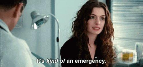 Anne Hathaway Urgent GIF