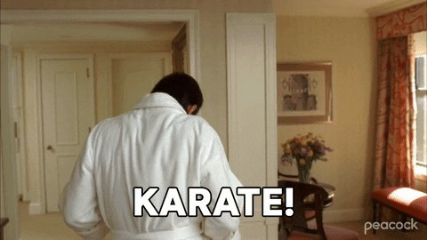 30 Rock Karate GIF by PeacockTV