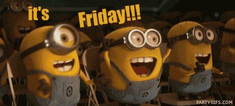 Image for the Tweet beginning: HAPPY FRIIIIIIIDAY!!!! Got plans for