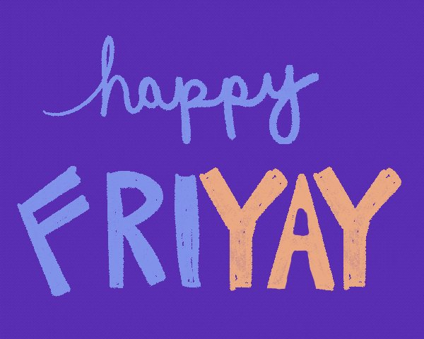 Image for the Tweet beginning: Happy #Friday! Hope everyone has