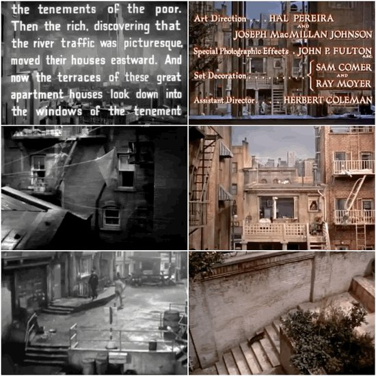 Similar opening scenes...  Dead End/Rear Window  #sidebyside #hitchcock #alfredhitchcock #williamwyler #movies #cinema #film @AlfredHitchcock pic.twitter.com/z0Mr0KP3eu