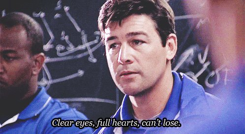 @jvfricke Almost every episode of Friday Night Lights.