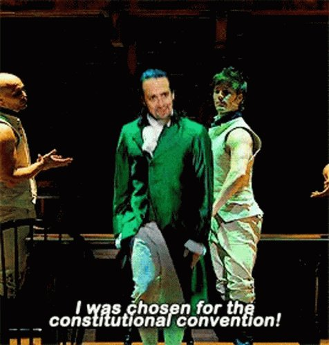 #Hamilton Just got invited to the second interview round for a new job. Current Mood:
