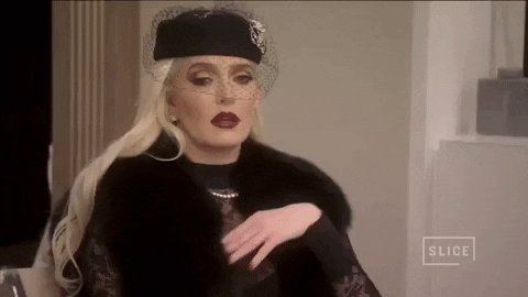 real housewives GIF by Slice